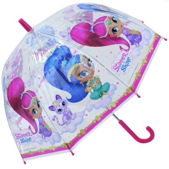Nickelodeon's Shimmer & Shine Children's Clear Dome Umbrella