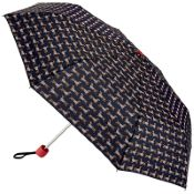 Joules Minilite Folding Umbrella - Sausage Dogs