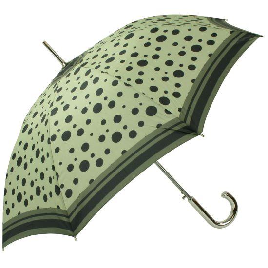 Riviera Auto Open Walking Length Umbrella - Soft Green