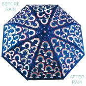 Colour Changing 'Big Kids' Folding Umbrella - Rainbows