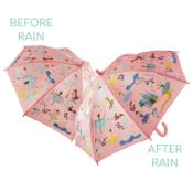 Colour Changing Childrens Umbrella - Enchanted