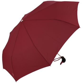 Duck Folding Umbrella by Rainbow of Milan - Deep Burgundy