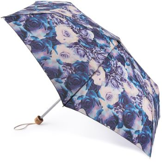 Fulton Eco Planet Manual Opening Folding Umbrella - Natural Bloom