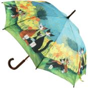Rosina Wachtmeister Walking Length Art Umbrella - All Together