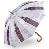 Stormking Classic Walking Length Umbrella - City Collection - London Mono