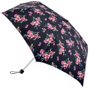 Fulton Superslim Mini Folding Umbrella - Regal Rose