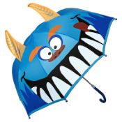Children's 3D Umbrella - Monster