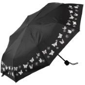Colour Changing Butterflies Folding Umbrella