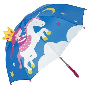 Children's 3D Umbrella - Princess & Unicorn