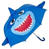 Children's 3D Umbrella - Shark