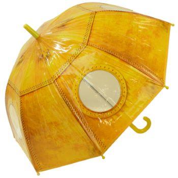 Yellow Submarine Window Children's Dome Umbrella by Fallen Fruits