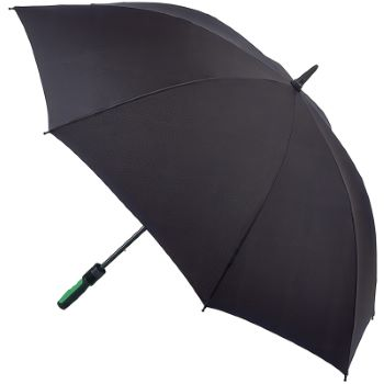 Fulton Performance Wind-Resistant Golf Umbrella - Cyclone - Black