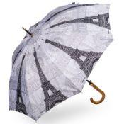 Stormking Classic Walking Length Umbrella - City Collection - Paris Mono