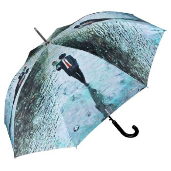 Theo Michael Walking Length Art Umbrella - Romance