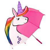 Children's 3D Umbrella - Unicorn