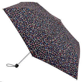Fulton Superslim Mini Folding Umbrella - Sprinkled Spot
