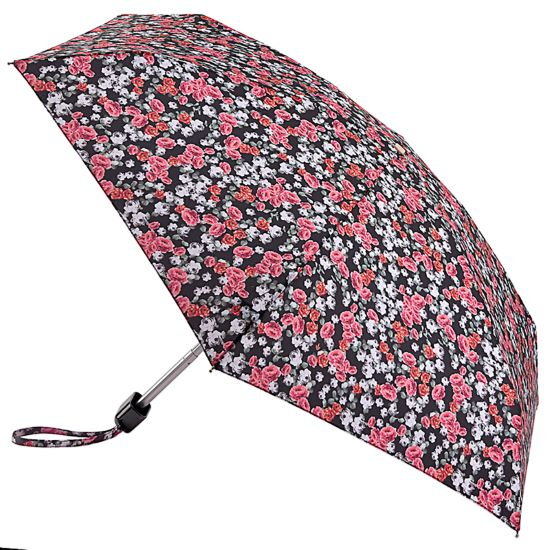 Fulton Tiny Folding Umbrella - Floral Cluster