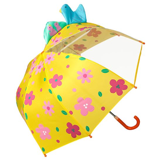 Children's 3D Umbrella - Flowers