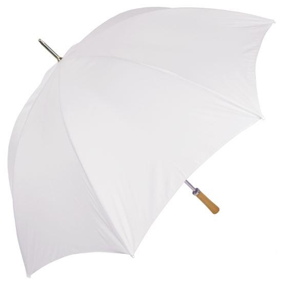 Chauffeur - Large Wedding Umbrella - White