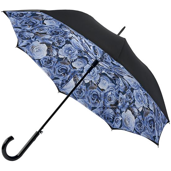 Fulton Bloomsbury Double Canopy Umbrella - Liquid Rose