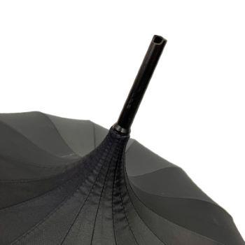Ex Hire Classic Pagoda Umbrella from Soake - Black