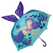 Children's 3D Umbrella - Mermaid