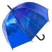 Susino Metallic Canopy Dome Umbrella - Blue