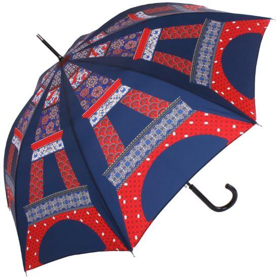 Le Parapluie Francais - Walking Length Umbrella - Eiffel Tower