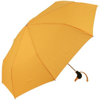 Duck Folding Umbrella by Rainbow of Milan - Golden Yellow
