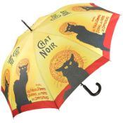 Le Chat Noir Walking Length Art Umbrella