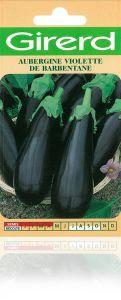 Aubergine violette de Barbentane sachet  2 g
