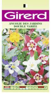 ANCOLIE DES JARDINS double varié Pqt  25 g