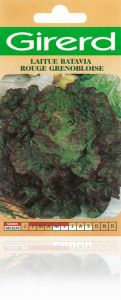 Laitue Batavia rouge grenobloise sachet  4 g