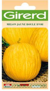 Melon jaune boule d'or  sachet  1 g