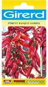 Piment GORRIA, piment basque sachet 0,3 g