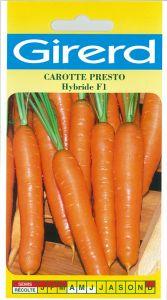 Carotte Presto HF1 sachet  3 g