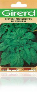 Epinard monstrueux de Viroflay sachet 8 g