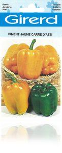 Poivron jaune carré d'Asti sachet 2 g