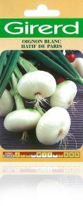 Oignon blanc hâtif de Paris sachet  4 g