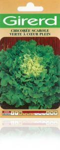Chicorée scarole verte à cœur plein sachet  5 g
