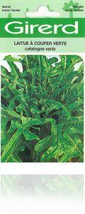 Laitue à couper catalogne verte sachet  4 g
