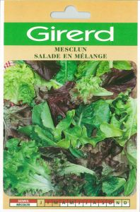 Mesclun - salade en mélange - sachet géant 10 g