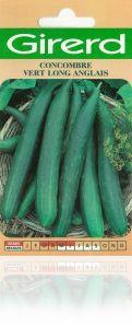 Concombre vert long anglais sachet  3 g