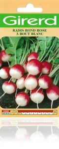 Radis rond rose à bout blanc sachet géant 20 g